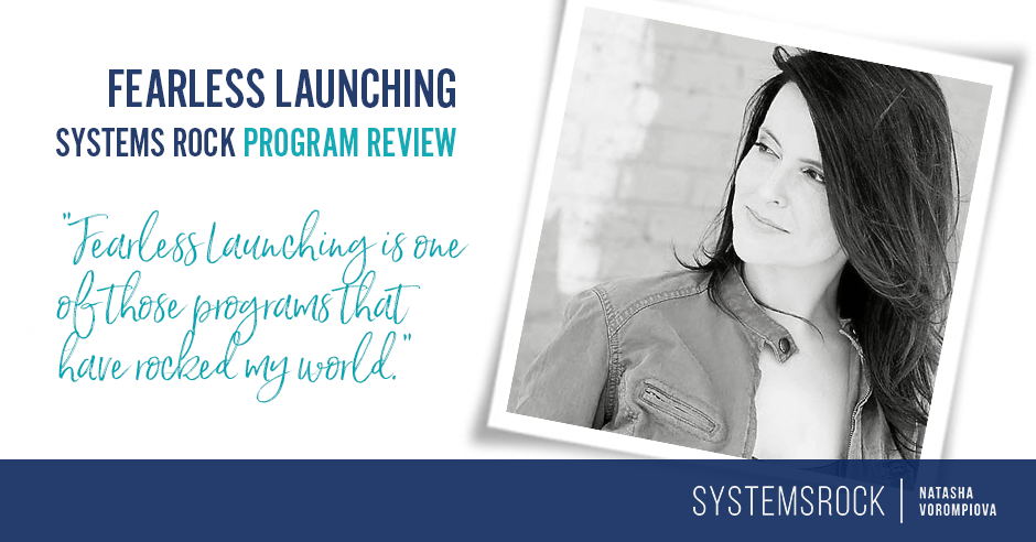 Fearless Launching with Anne Samoilov: Program Review