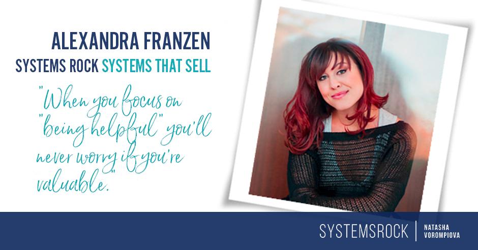 Systems That Sell: Alexandra Franzen