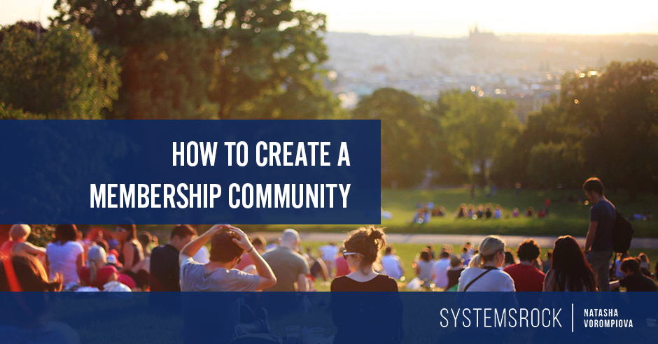 How to Create a Membership Community