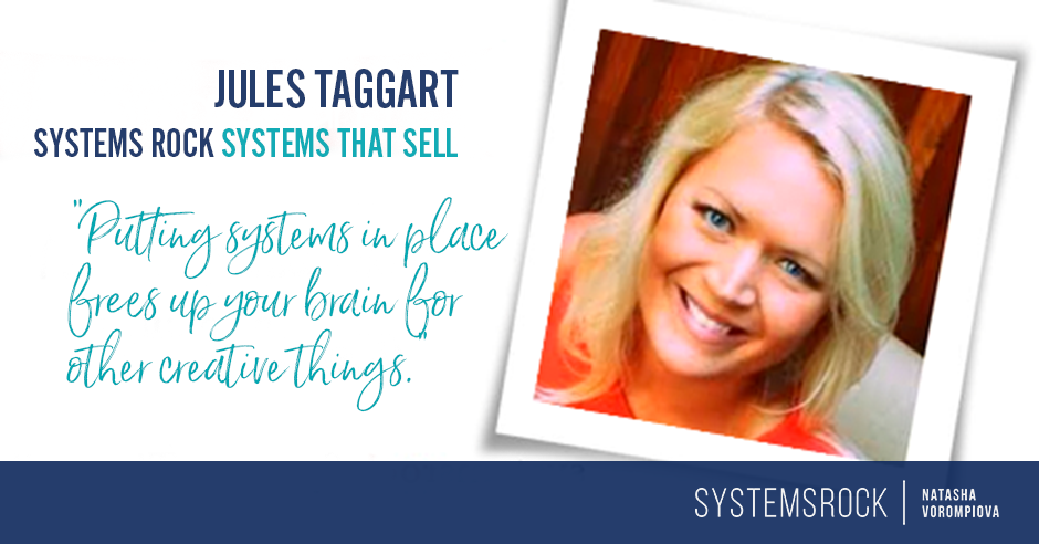 Systems That Sell: Jules Taggart