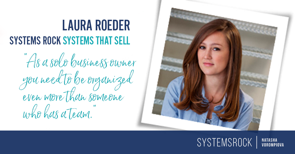 Systems That Sell: Laura Roeder