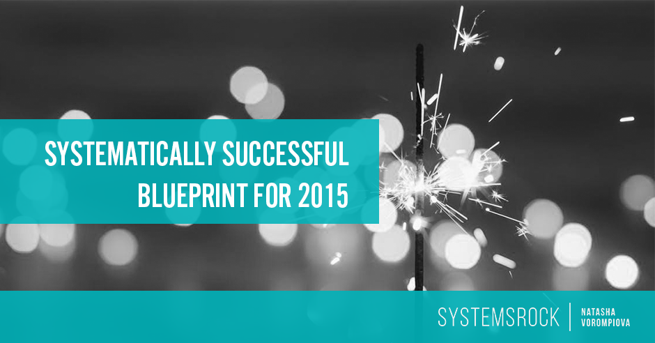 Systematically Successful Blueprint for 2015