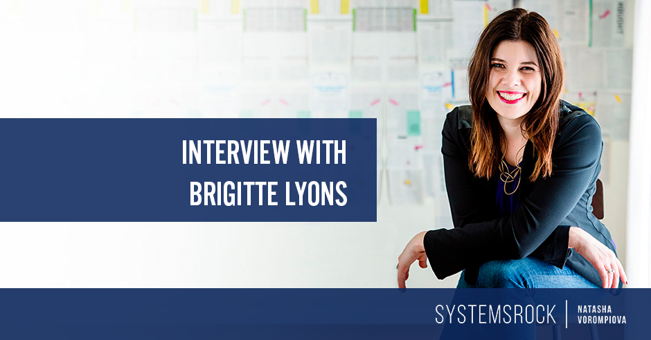 Interview with Brigitte Lyons