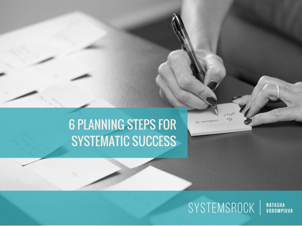 Planning Steps