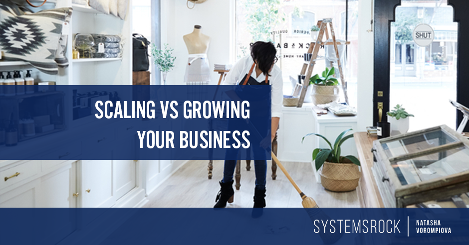 Scaling vs. Growing Your Business