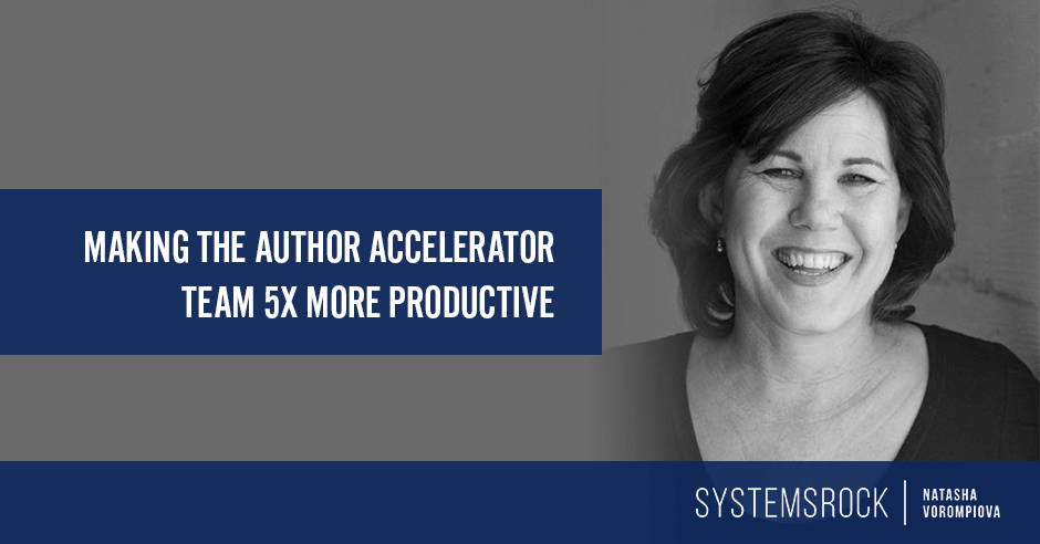 "5X the Productivity Let The Author Accelerator Team Say ""Bring It On"" To Massive Growth"